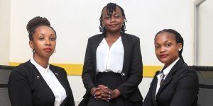 AFRICAN SHAPERS: FIRM FEATURES IN